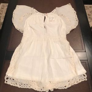 🆕Free People Lace Romper!